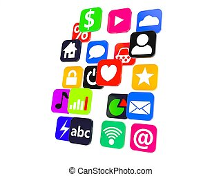 aplication, ikony