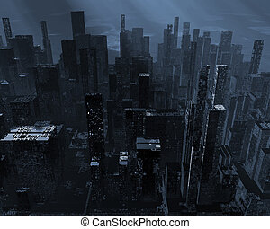 Apocalypse - Terrible earthquake destroyed the great city