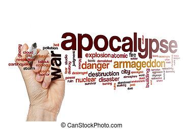 Apocalypse word cloud