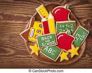 apoie escola, biscoitos