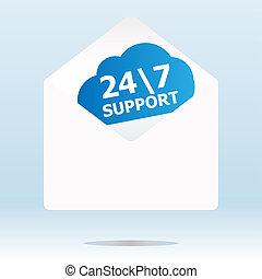 apoio,  concept:, segurança, fundo,  digital