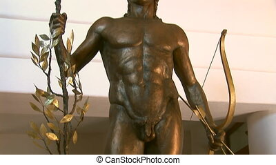 """apollo - Statue of """"Apollo the Healer"""" with the bow and..."""