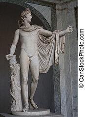 apolo, estatua