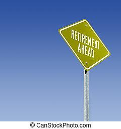 aposentadoria, à frente