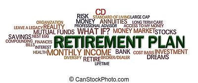 aposentadoria, plano