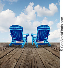 aposentadoria, relaxamento