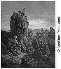 Apostles Preach the Gospel - Picture from The Holy...