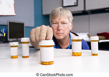 apotheker, en, medicatie