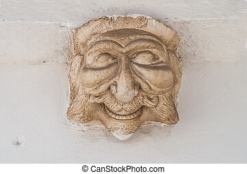 Apotropaic mask.