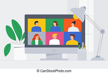 app , ή , smartphone., μικροβιοφορέας , style., μοντέρνος , γελοιογραφία , διαμέρισμα , βίντεο , καθιερώνων μόδα , νέος , concept., λόγια , δουλεία χρήσεως laptop , επικοινωνία , επάγγελμα , εικόνα , messaging , άντραs , internet , γυναίκεs , καλώ