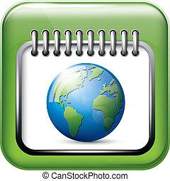 app, カレンダー, アイコン