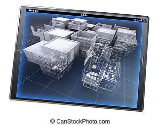 app, architektura