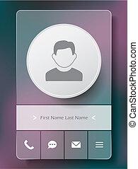app, benutzerschnittstelle, design