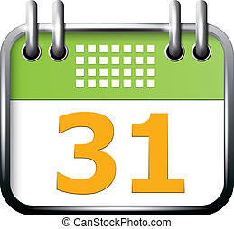 app, calendario, icona