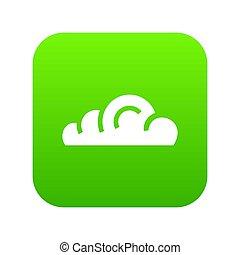 App cloud icon green