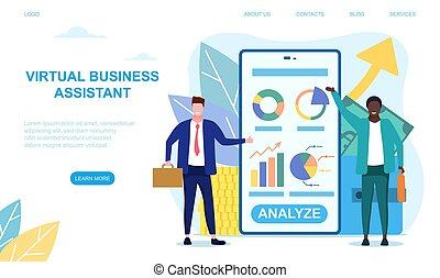 app, concept, business, virtuel, aide