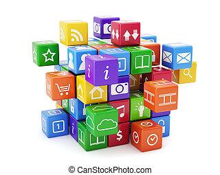 app, concept, logiciel