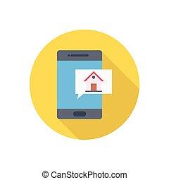 app  flat color icon