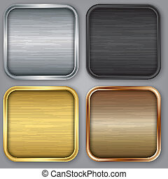 App icons set, illustration