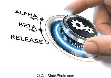 app, o, software, desarrollo
