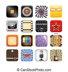 app , retro , απεικόνιση