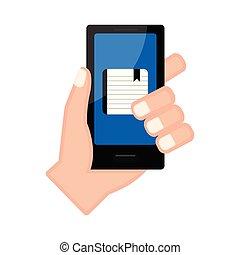 app, smartphone, 保有物, 議題, 手
