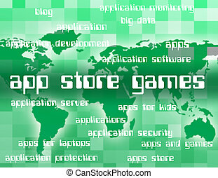 App Store Games Shows Retail Sales And Applications