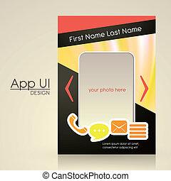 app user interface design