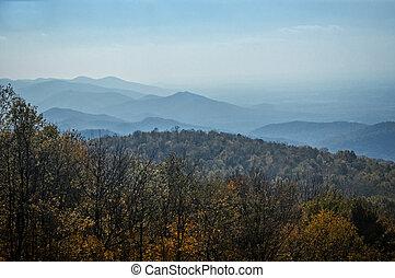 Appalachian Mountains in Autumn