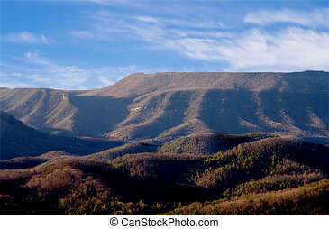 Appalachian Mountains - Tha Appalachian Mountains in the...