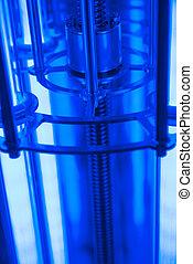 apparatus for preserving UV light. photography in UV light