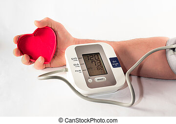 Apparatus pressure - The pressure gauge to control our blood...