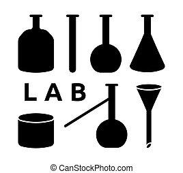 apparecchiatura, laboratorio