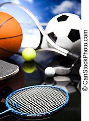 apparecchiatura sport, dettaglio