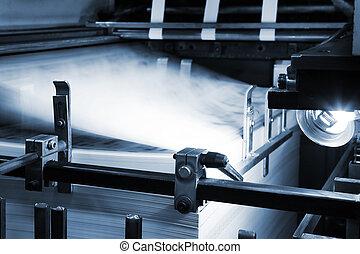 apparecchiatura, stampa