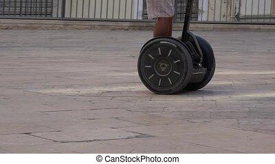 appareil, équitation, roulé, mobilité