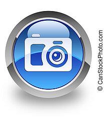appareil-photo numérique, lustré, icône