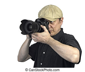 appareil-photo photo, homme