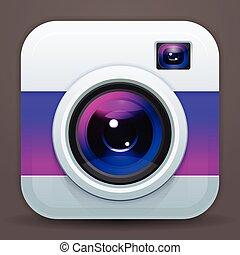 appareil-photo photo, icône