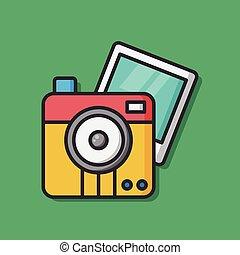 appareil-photo photo, pellicule, icône