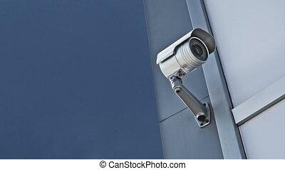 appareil-photo sécurité, cctv, appareil-photo.