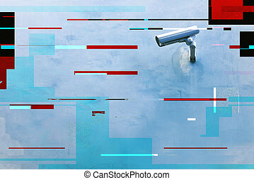 appareil-photo sécurité, cctv