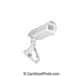 appareil-photo sécurité, cctv, isolé