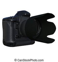 appareil photo, slr, numérique