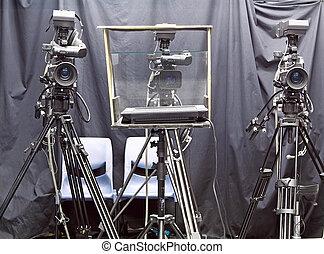 appareil photo, studio