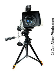 appareil photo, vidéo, trépied