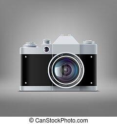 appareil photo, vieux, pellicule