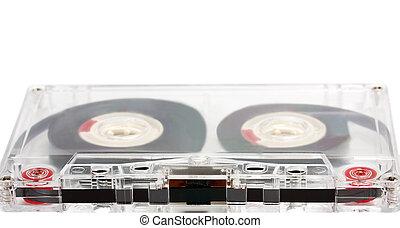 appareil, vendange, sommet, cassette, média