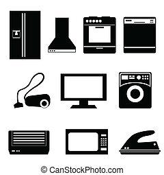 appareils électroménagers