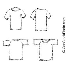 Apparel shirts template